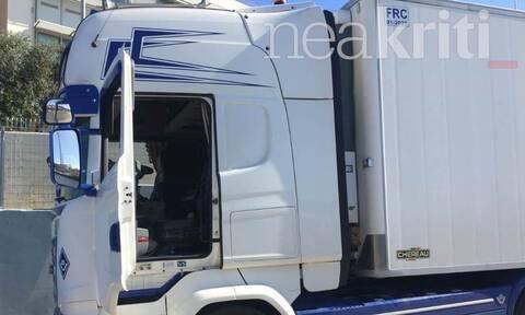 Ηράκλειο: Φορτίο μαμούθ - Νταλίκα με δεκάδες κιλά ναρκωτικών