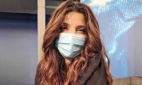 Τσαπανίδου: Μέσα από μια συγκλονιστική φωτό αποκάλυψε το πρόβλημα υγείας της