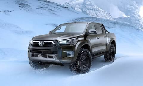 Αυτό το Toyota Hilux μπορεί να φτάσει μέχρι το Βόρειο Πόλο