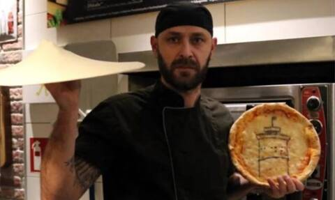 Γιώργος Ζαχόπουλος: Ο Έλληνας που «τρελαίνει» τους Γερμανούς ζωγραφίζοντας σε... πίτσες