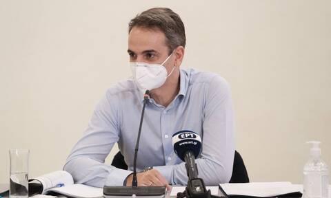 Μητσοτάκης: «Παίρνουμε μέτρα για να είμαστε μπροστά από την πανδημία»