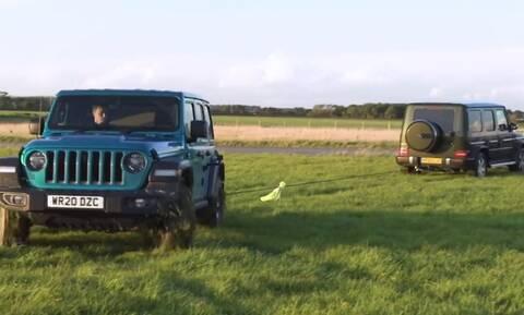 Ποιο από τα Mercedes G-Class, Jeep Wrangler και Land Rover Defender νικά στη διελκυστίνδα;