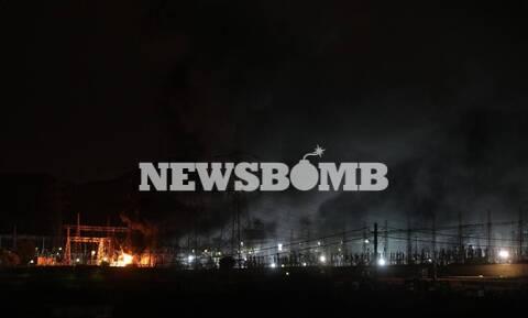 Μπλακ άουτ στην Αττική: Φωτιά σε υποσταθμό της ΔΕΗ στον Ασπρόπυργο - Εκτεταμένες διακοπές ρεύματος