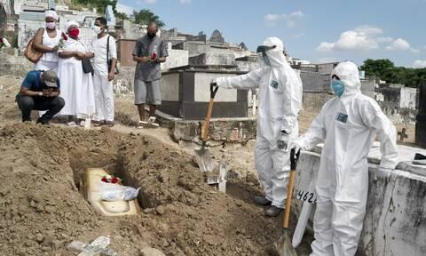 Κορονοϊός στη Βραζιλία: Πάνω από 231.000 οι νεκροί από την πανδημία