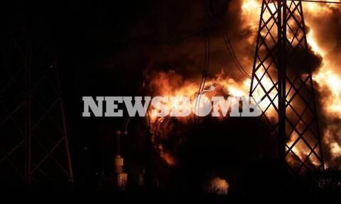 Συναγερμός για τοξικό νέφος μετά την έκρηξη στον Ασπρόπυργο - Ένα εκατ. κάτοικοι στο σκοτάδι