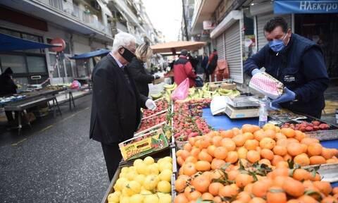 Λαϊκές αγορες: Κανονικά θα λειτουργήσουν το επόμενο Σάββατο σε Αττική και Θεσσαλονίκη