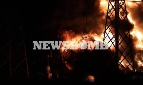 Μπλακ άουτ - Φωτιά στον Ασπρόπυργο: Δεν λειτούργησαν οι ασφάλειες – Ανησυχία για νέα διακοπή