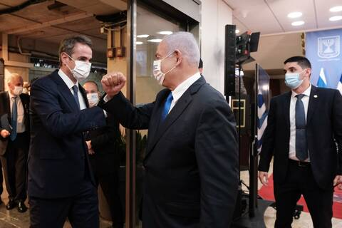 Νέο κεφάλαιο στις σχέσεις Ελλάδας - Ισραήλ, συνεργασία σε τουρισμό, κορονοϊό και αμυντικό τομέα