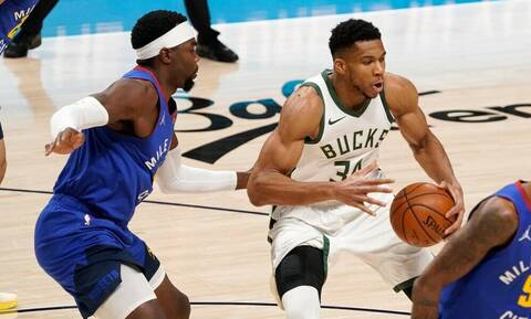 NBA: «Χτίζουν» σερί οι Μπακς - Εξαιρετικός Γιάννης (photos+video)