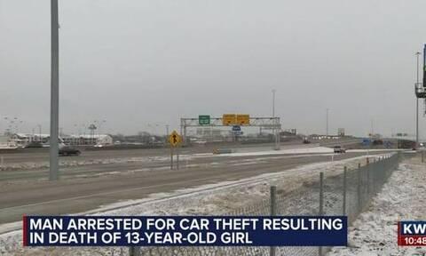Φρικτός θάνατος για 13χρονη: Την έσερνε για χιλιόμετρα ο κλέφτης του αυτοκινητού των γονιών της