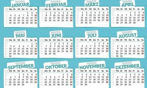 Αργίες 2021: Πότε έχουμε Καθαρά Δευτέρα και πότε Πάσχα - Δείτε τις ημερομηνίες