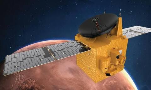 ΗΑΕ: Το πρώτο αραβικό ρομποτικό σκάφος μπήκε σε τροχιά γύρω από τον Άρη
