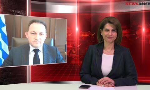 Πέτσας σε Newsbomb.gr: Έκτακτη σύσκεψη για την επερχόμενη κακοκαιρία την Παρασκευή