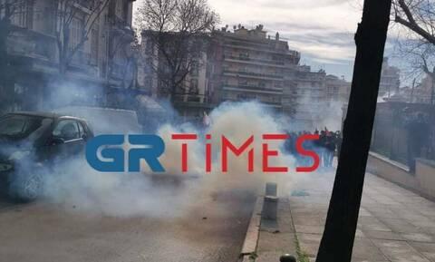 Θεσσαλονίκη: Επεισόδια στο πανεκπαιδευτικό συλλαλητήριο