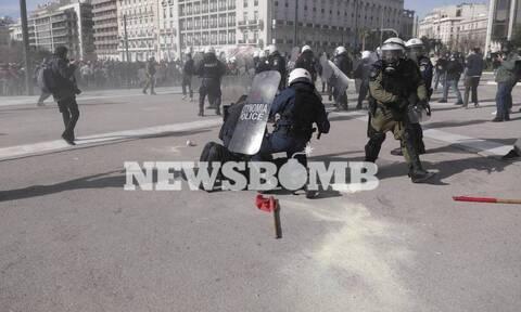 Студенческая акция протеста в центре Афин переросла в беспорядки