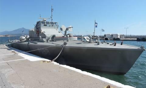 Σάμος: Ατύχημα με παράκτιο περιπολικό σκάφος - Προσάραξη σε αβαθή του λιμένα Πυθαγορείου