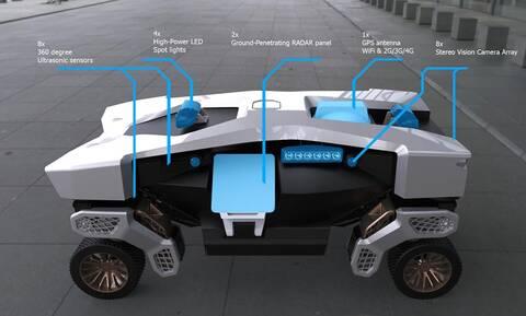 Ποιο είναι αυτό το περίεργο όχημα της Hyundai;