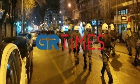 Θεσσαλονίκη: Ένταση στο περιθώριο του πανεκπαιδευτικού συλλαλητηρίου