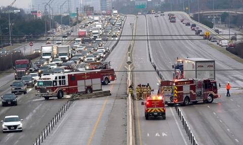 Τραγωδία στο Τέξας: Τουλάχιστον 5 νεκροί και 30 τραυματίες σε καραμπόλα περίπου 100 οχημάτων