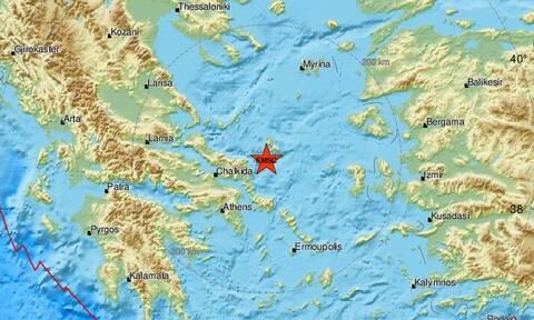 Σεισμός μεταξύ Ευβοίας και Σκύρου (pic)