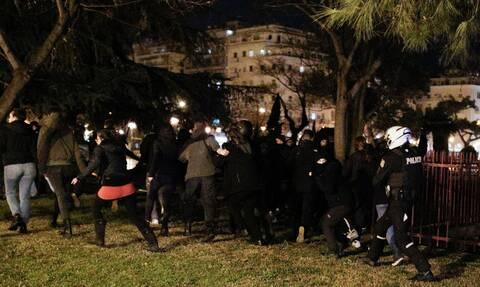Θεσσαλονίκη: 27 προσαγωγές και μια σύλληψη από τα επεισόδια της Πέμπτης