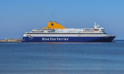 Ικαρία: Προσέκρουσε στο λιμάνι το Blue Star Mykonos - Λαχτάρα για 164 επιβάτες