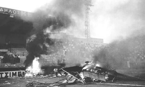 Παναθηναϊκός – Ολυμπιακός: Η ημέρα που οι οπαδοί των δυο ομάδων διέλυσαν τη Λεωφόρο