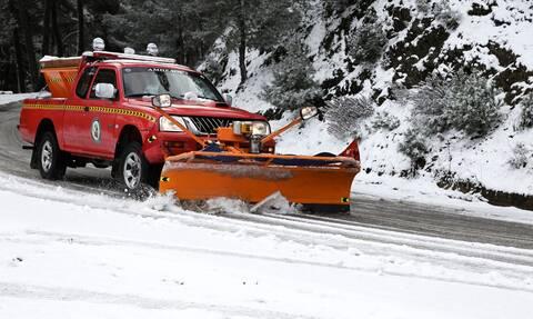 Κακοκαιρία Μήδεια: Σαρώνει τη Βόρεια Ελλάδα με πυκνές χιονοπτώσεις - Πώς θα κινηθεί το πολικό ψύχος