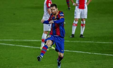 LaLiga: Νέο ρεκόρ ο Μέσι, «πεντάρα» η Μπάρτσελόνα – Όλα τα γκολ στην Ισπανία (videos)