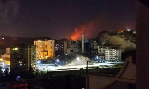 Συρία: Νέα επίθεση του Ισραήλ στη Δαμασκό