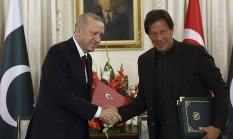 Χέρι - χέρι Τουρκία και Πακιστάν για Ισλαμικό μέτωπο κατά πάντων - Η φιλοδοξία Ερντογάν για πυρηνικά