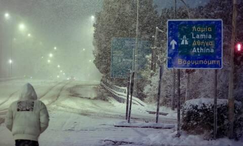 Κακοκαιρία «Μήδεια»: Η εξέλιξη των χιονοπτώσεων τις επόμενες ώρες