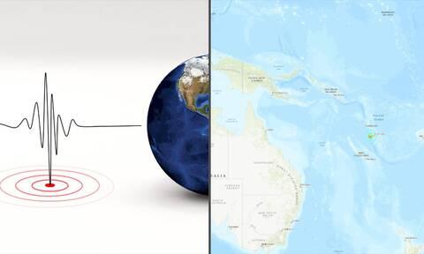 Ισχυρός σεισμός 6,7 Ρίχτερ στο Βανουάτου (pics)