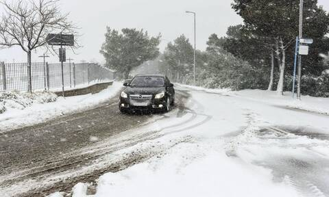 Κακοκαιρία «Μήδεια»: Οδηγίες σε περίπτωση αναγκαίας χρήσης του αυτοκινήτου