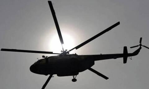Αεροπορική τραγωδία με πτώση ελικοπτέρου - 4 νεκροί