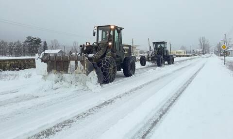 Κακοκαιρία - «Μήδεια»: Στους δρόμους ο Στρατός – Μηχανήματα και προσωπικό για αντιμετώπιση ζημιών