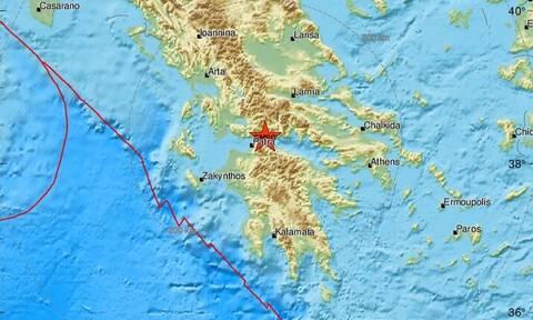 Σεισμός κοντά σε Αίγιο, Πάτρα και Ναύπακτο (pics)