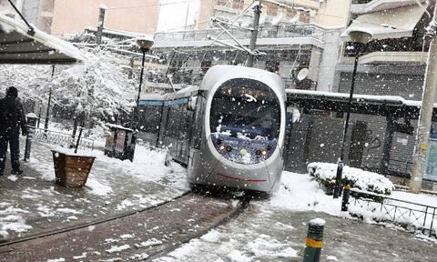 Κακοκαιρία «Μήδεια»: Μετ' εμποδίων η κίνηση των λεωφορείων - Πώς λειτουργούν ηλεκτρικός και μετρό