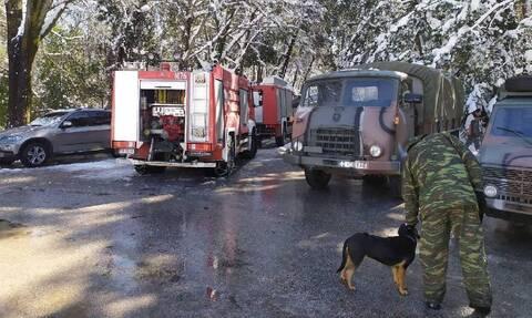 Στη «μάχη» με την κακοκαιρία και ο στρατός - 40.000 νοικοκυριά χωρίς ρεύμα στην Αττική