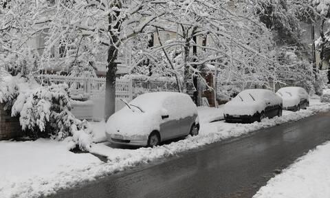 Κακοκαιρία «Μήδεια»: «Τα χιόνια στην Αθήνα ήσαν εφάμιλλα του 2008 και 2002»