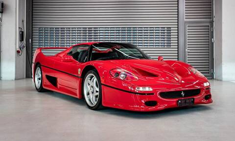 O Sebastian Vettel έχει μάλλον πολλά αυτοκίνητα και έτσι πουλά μερικά