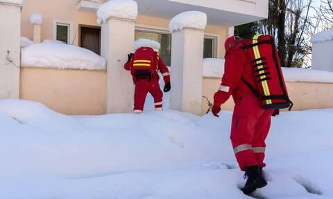 Κακοκαιρία «Μήδεια»: Απεγκλωβισμοί κατοίκων της Αττικής με τη βοήθεια του Ελληνικού Ερυθρού Σταυρού