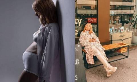 Μαρία Ηλιάκη: Οι βόλτες της εγκυμονούσας και η ατάκα για το μονόπετρο
