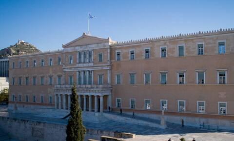 Логотип 40-летия со дня присоединения Греции к ЕС будет транслироваться на здание парламента