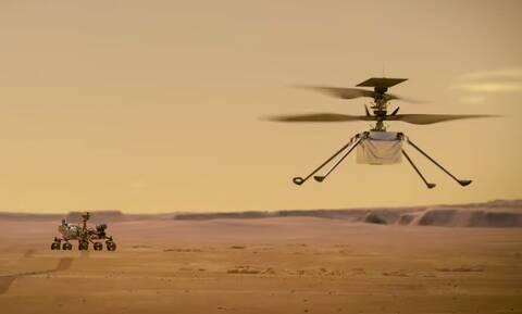NASA: «Δείτε» live την ιστορική προσεδάφιση του Perseverance στον πλανήτη Άρη