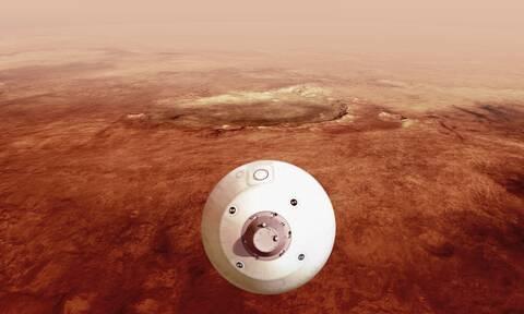 NASA: Οι πρώτες εντυπωσιακές εικόνες από την προσεδάφιση του Perseverance στον Άρη