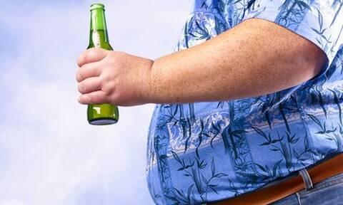 Έρευνα: Πόσα κιλά παίρνεις πίνοντας μπύρα