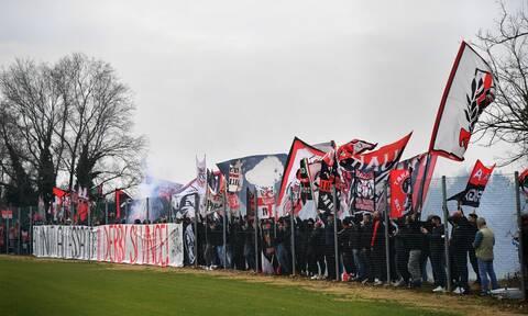 Serie A: Ποιος κορονοϊός; Έχει Μίλαν – Ίντερ! - «Χαμός» στην προπόνηση από 300 οπαδούς (videos)