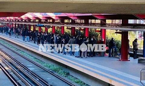 Τρικάκια στα γραφεία της ΝΔ για τον Κουφοντίνα - Προσπάθησαν να διαφύγουν με τρένο