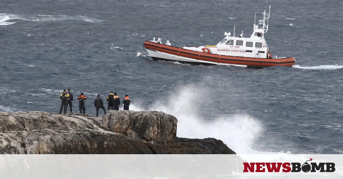 Ιταλία: Διασώθηκαν 47 μετανάστες έπειτα από ναυάγιο – Newsbomb – Ειδησεις